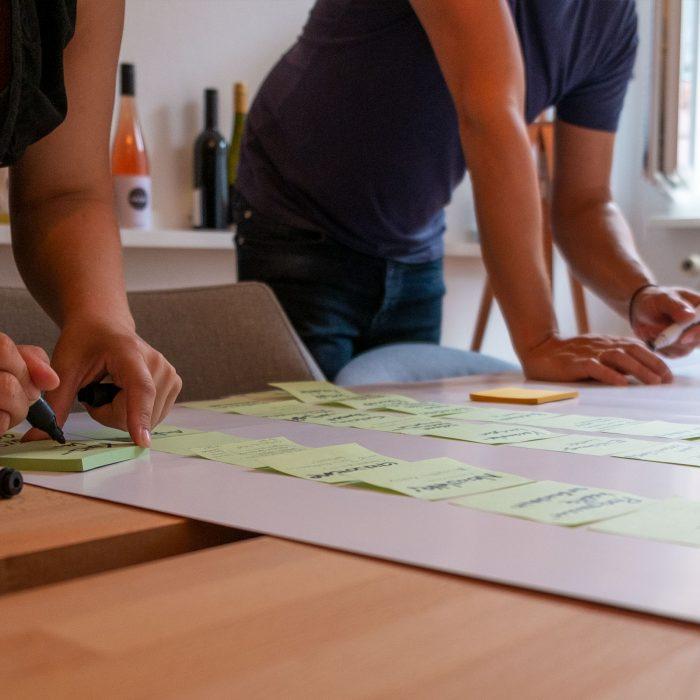 Meeting und Abstimmung Design