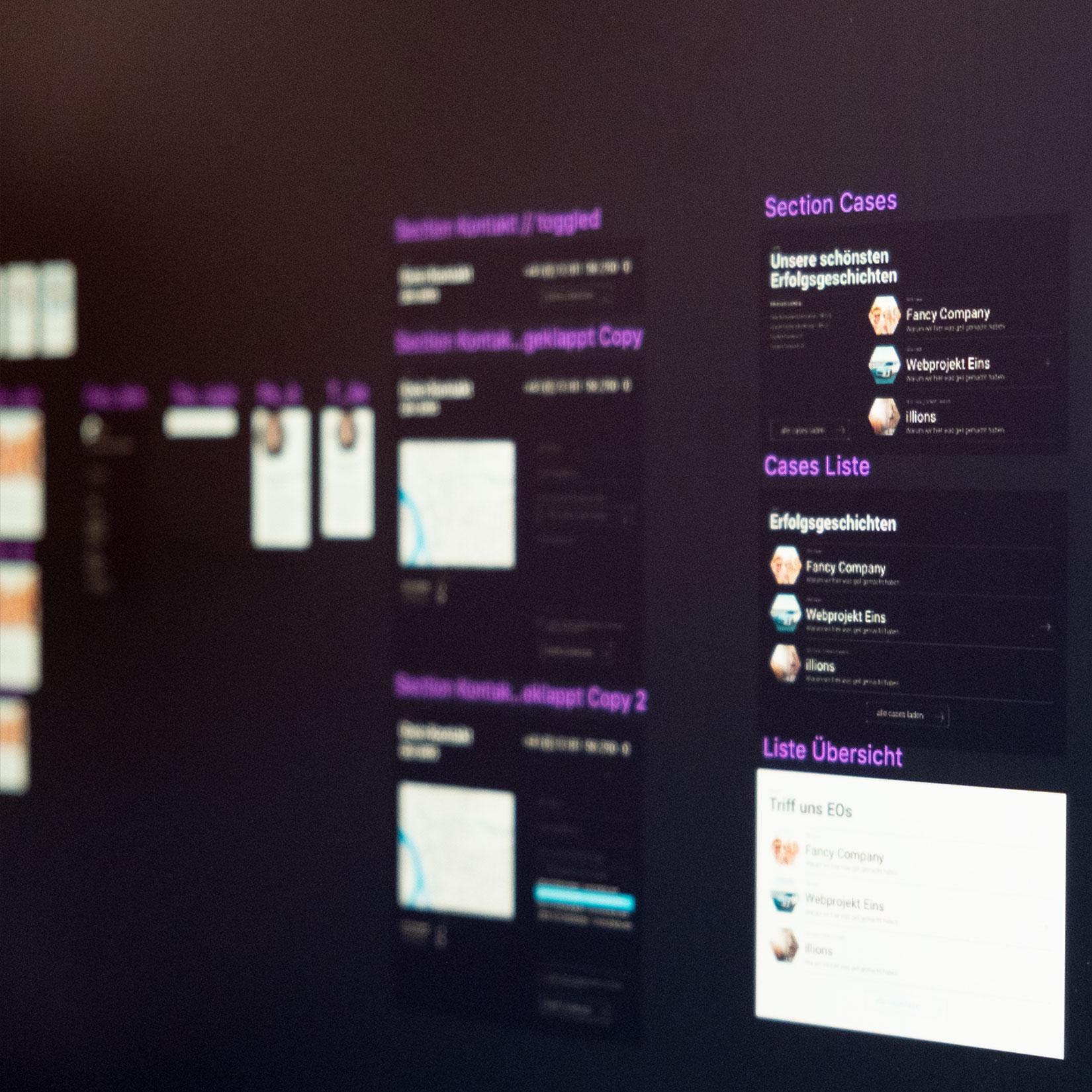Module des Webdesigns