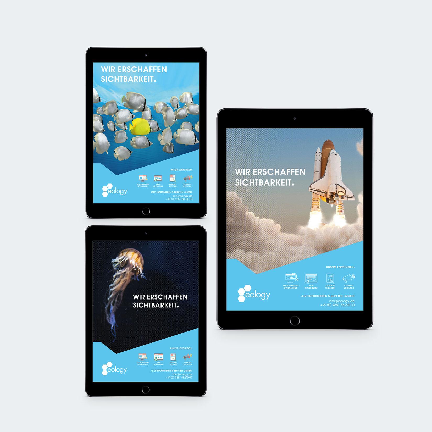 Eology Corporate Design Anzeige