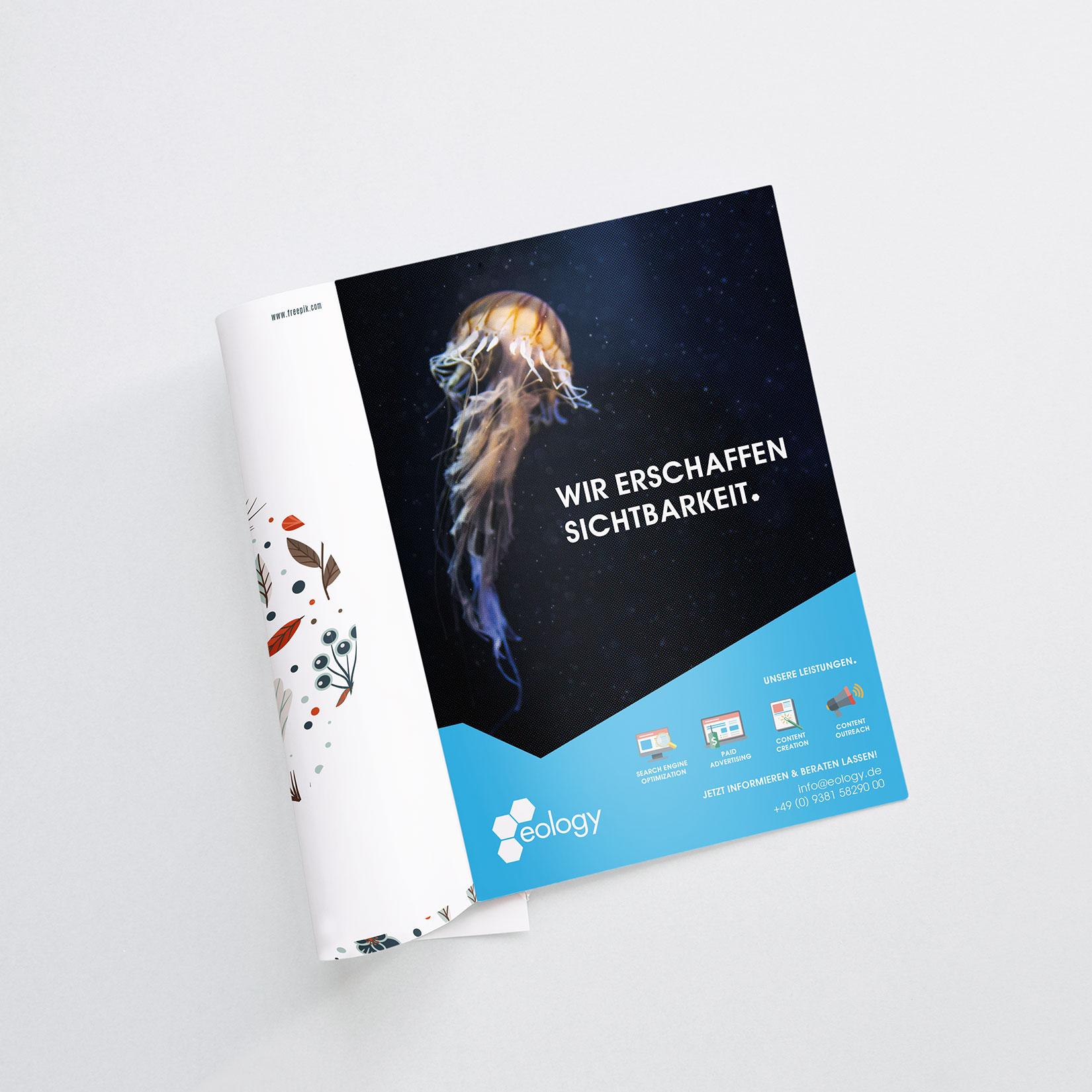 Eology Corporate Design Magazin Anzeige Anzeige
