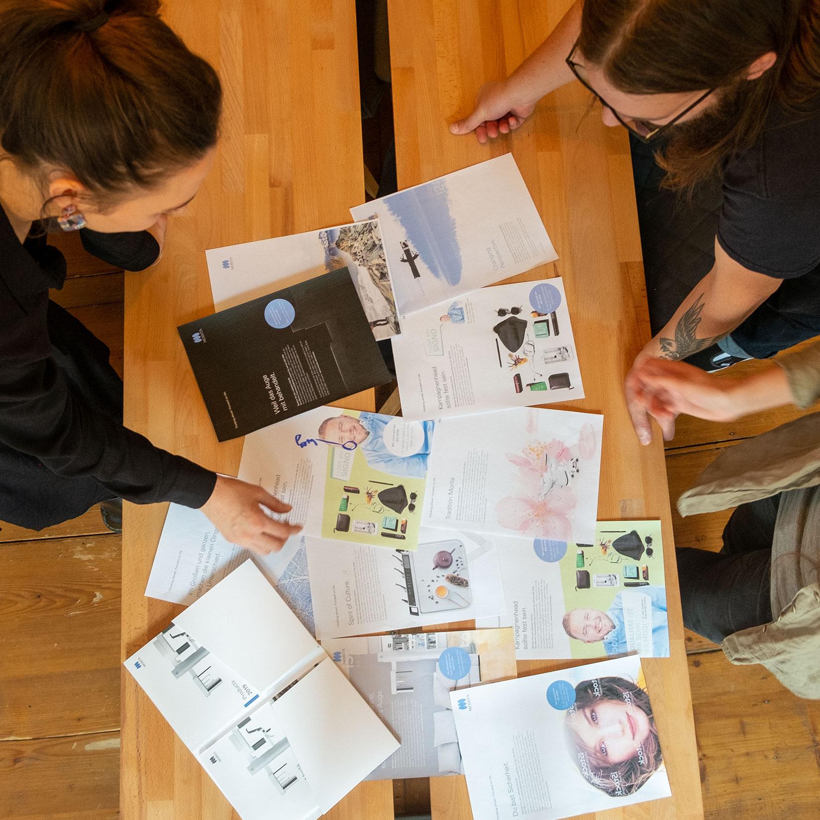 Markenting Besprechung Brainstorming