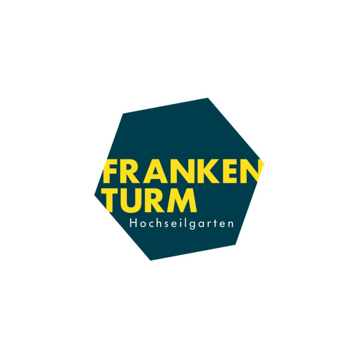 Logogestaltung Hochseilgarten Frankenturm