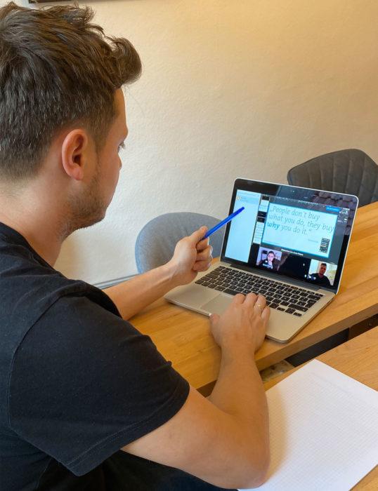 online meeting und präsentation würzburg