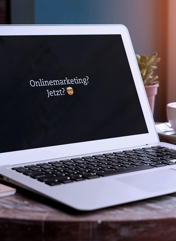 Titelbild Onlinemarketing Design Würzburg