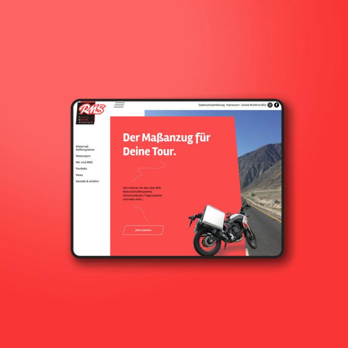 RMS Webdesign Responsive Motorsport