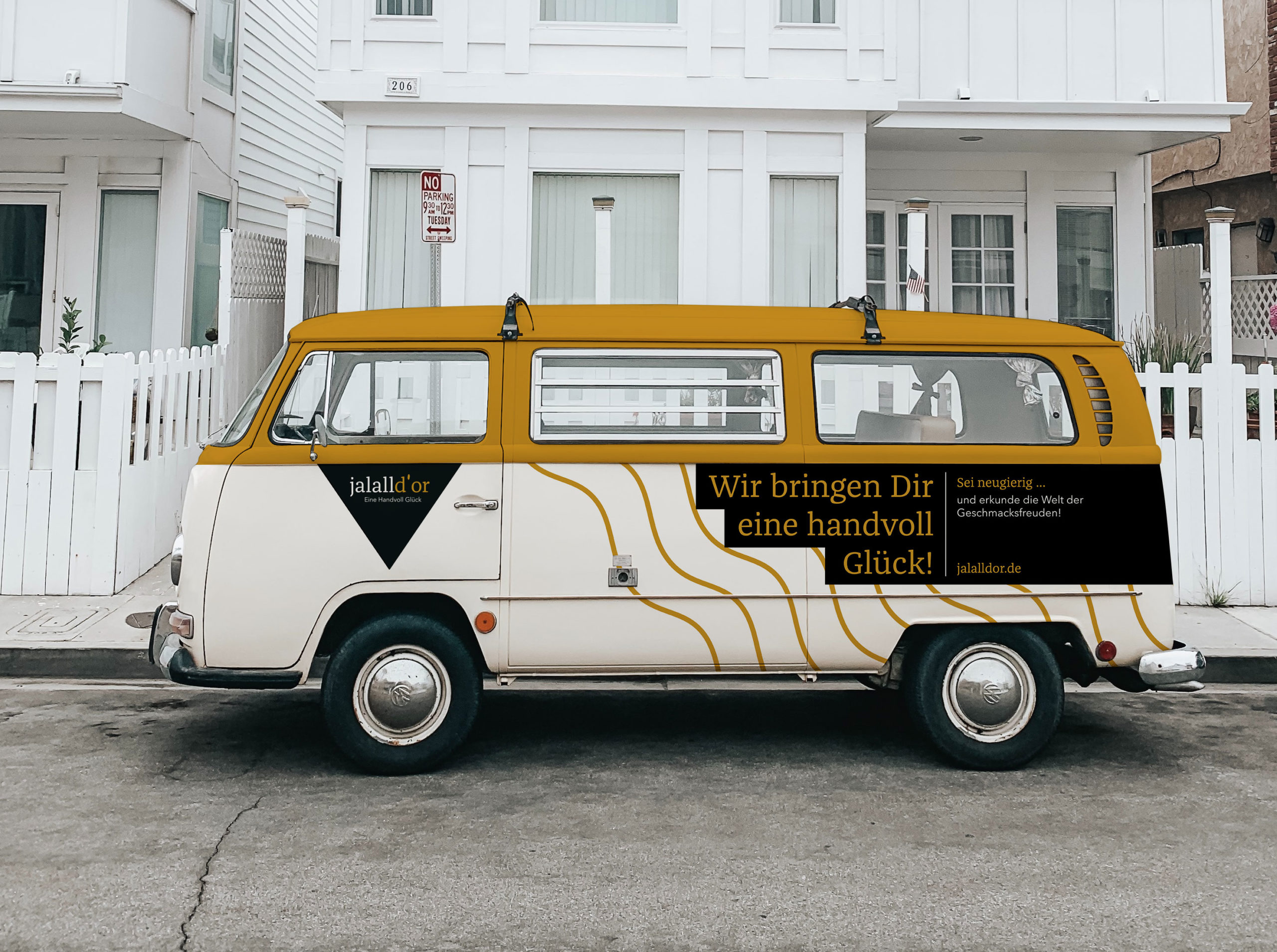 Fahrzeug Design Delivery Gestaltung Bulli