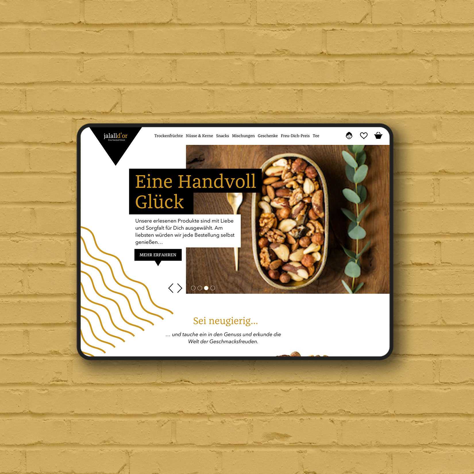 Webdesign Responsive modern fresh