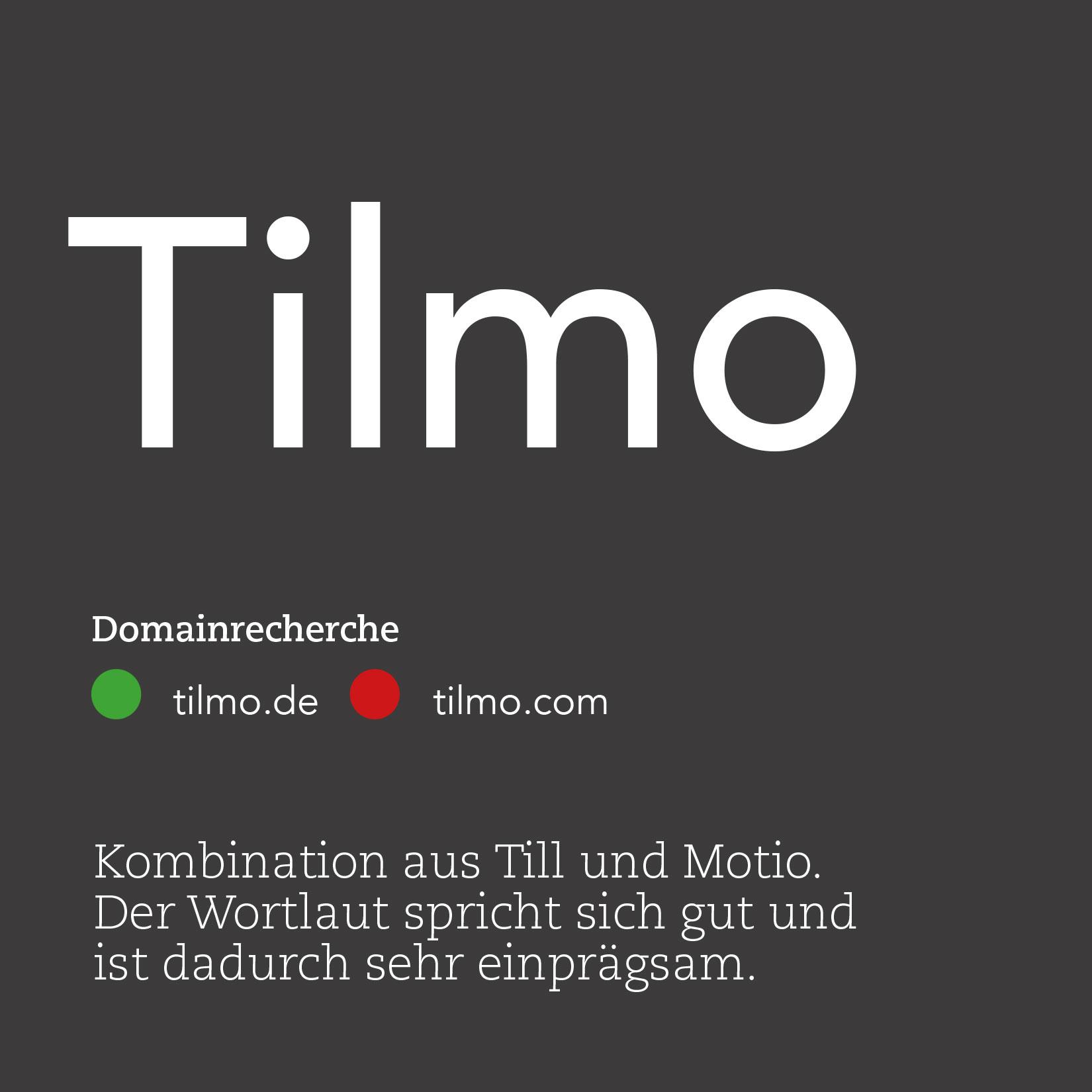 Tilmo Namensdindung