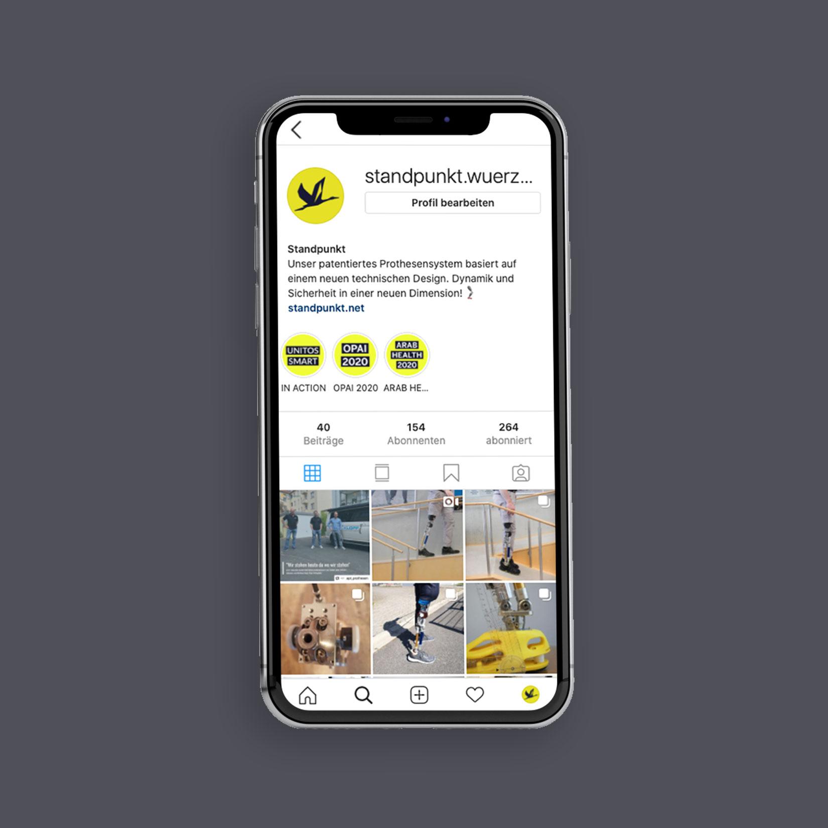 Standpunkt Würzburg Social Media