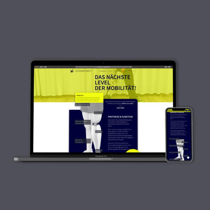 Standpunkt Würzburg Webdesign
