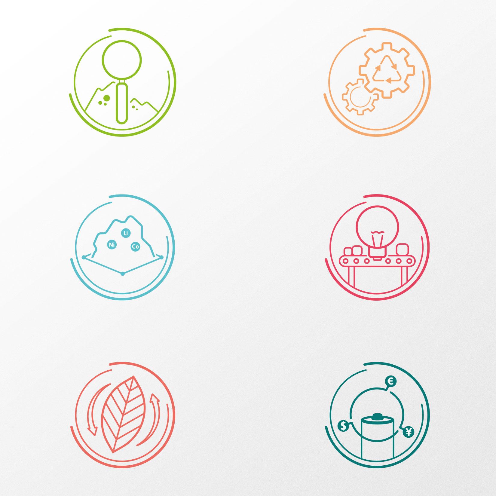 Icon Illustration Fraunhofer ISC