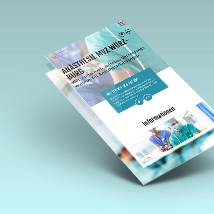 Webdesign medizinisches Versorungszentrum
