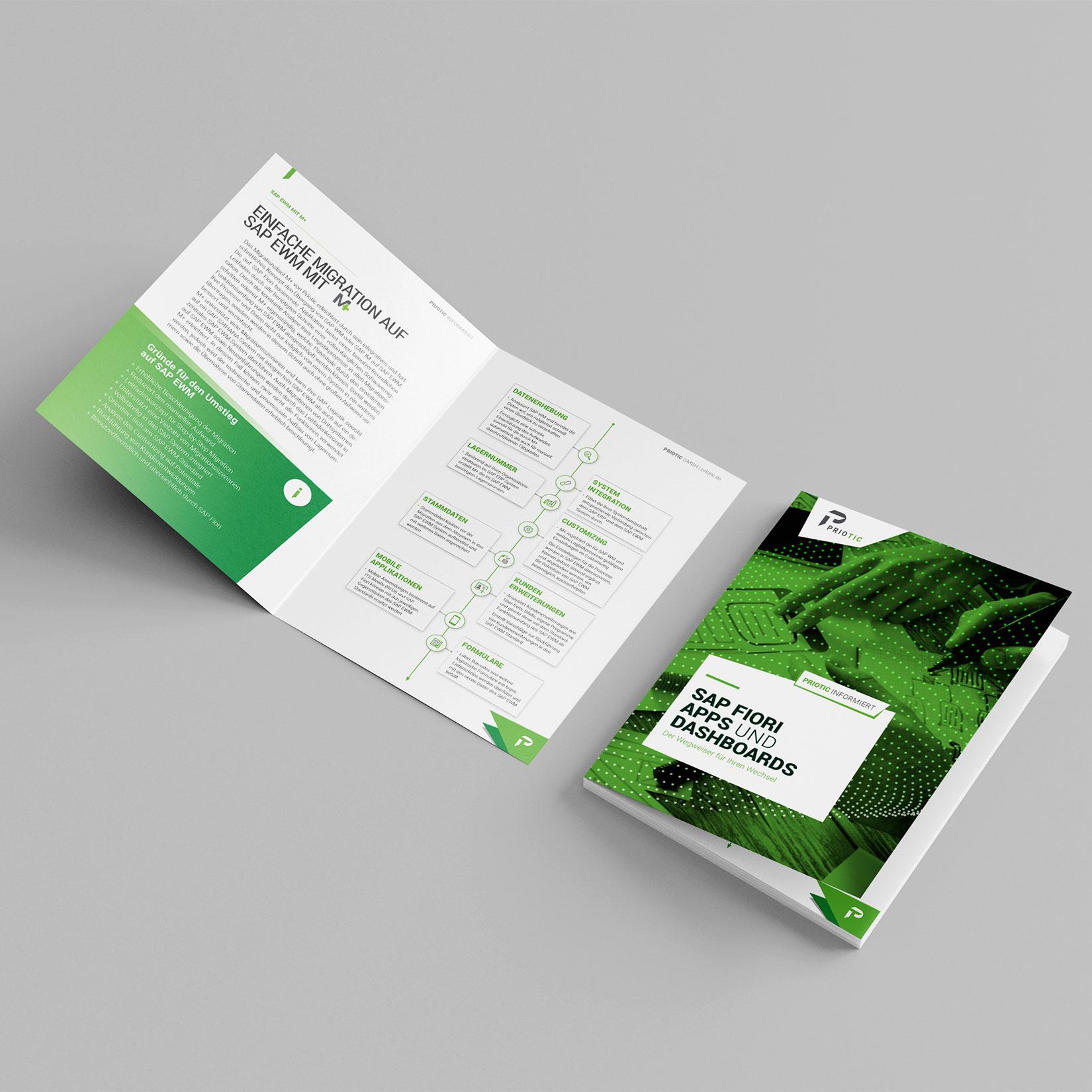 Priotic Corporate Design Flyer