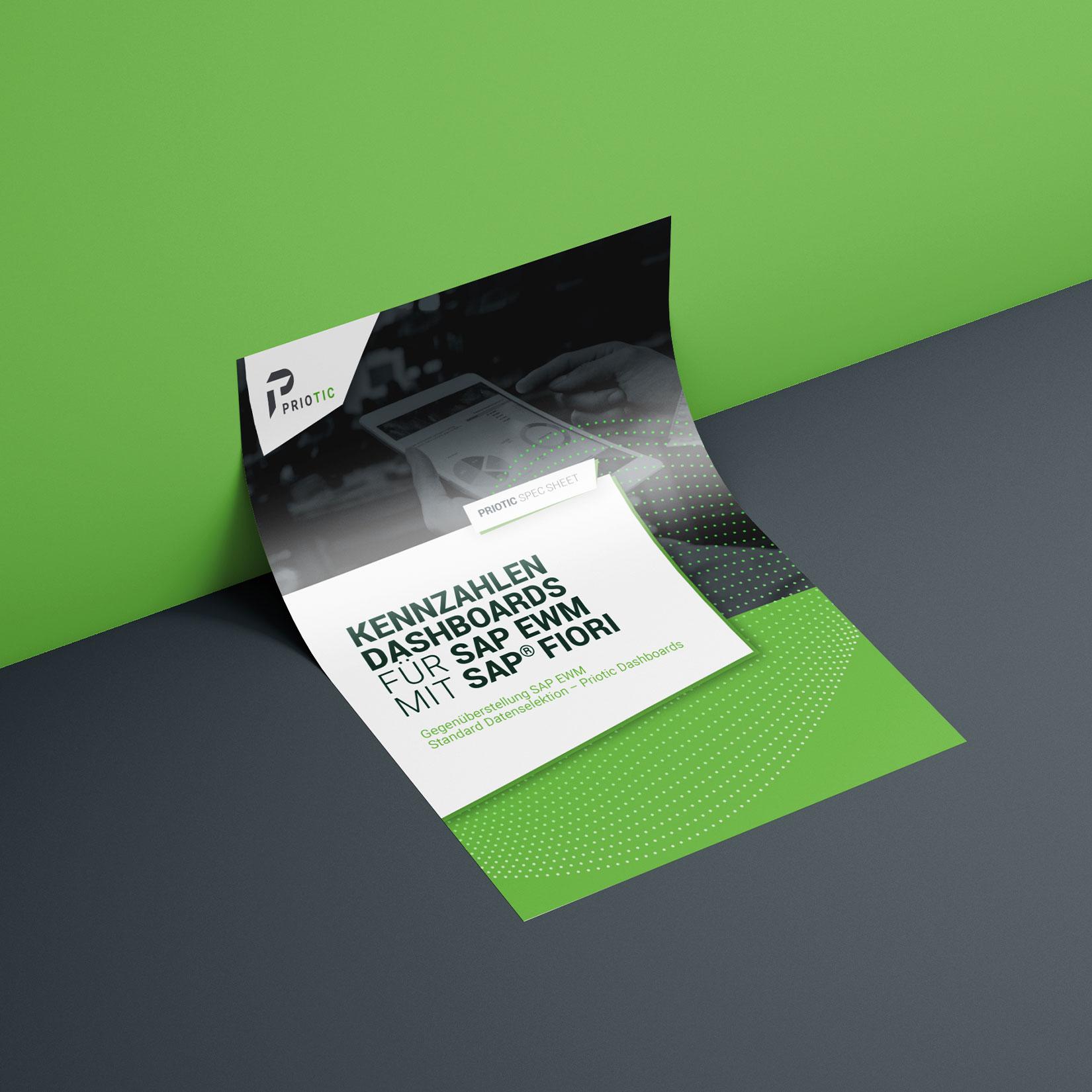 Priotic Corporate Design Spec Sheet