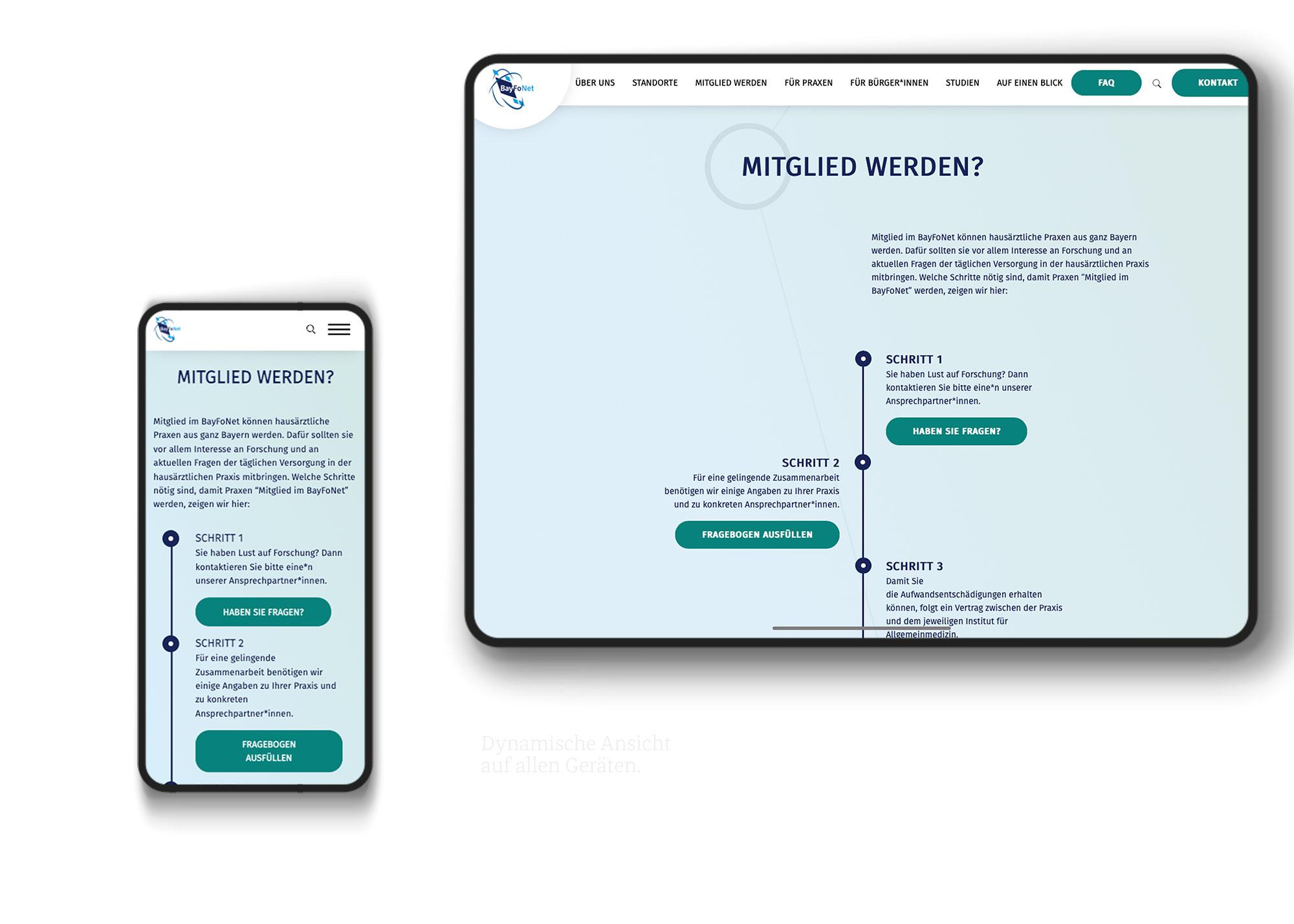 digitalisierung webdesign medizin allgemeinmedizin
