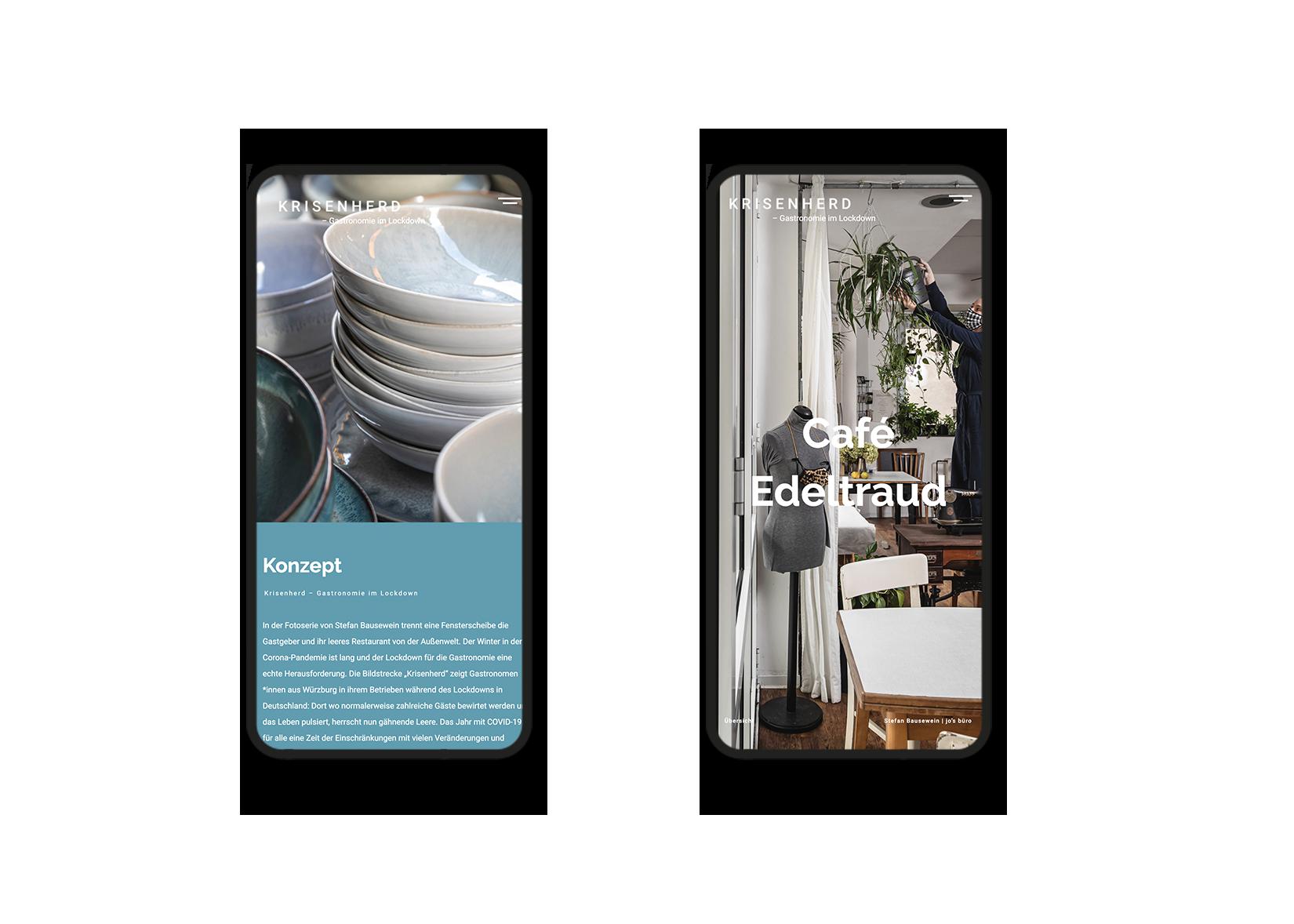 mobiles webdesign fotoprojekt