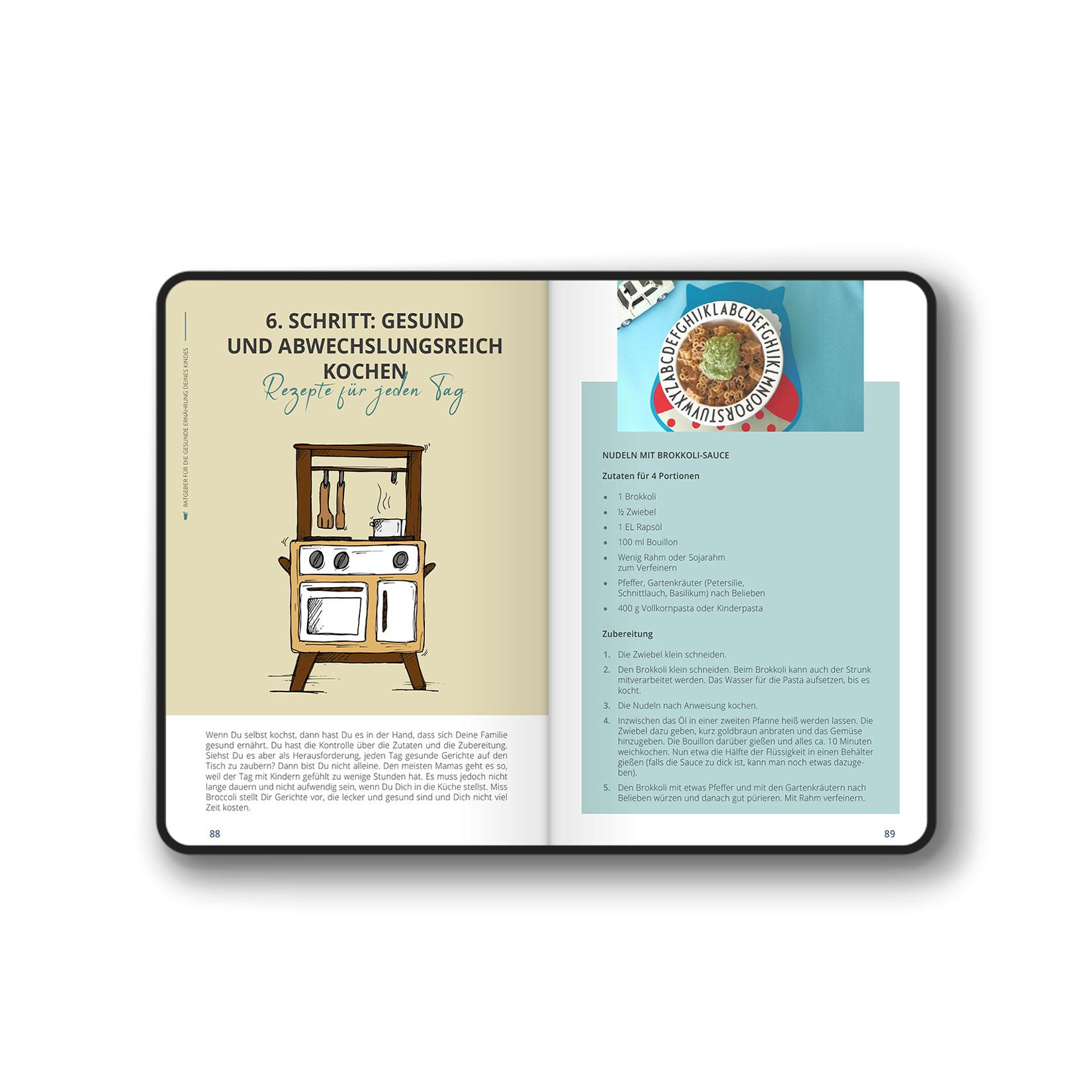 eBook Layout und Illustration