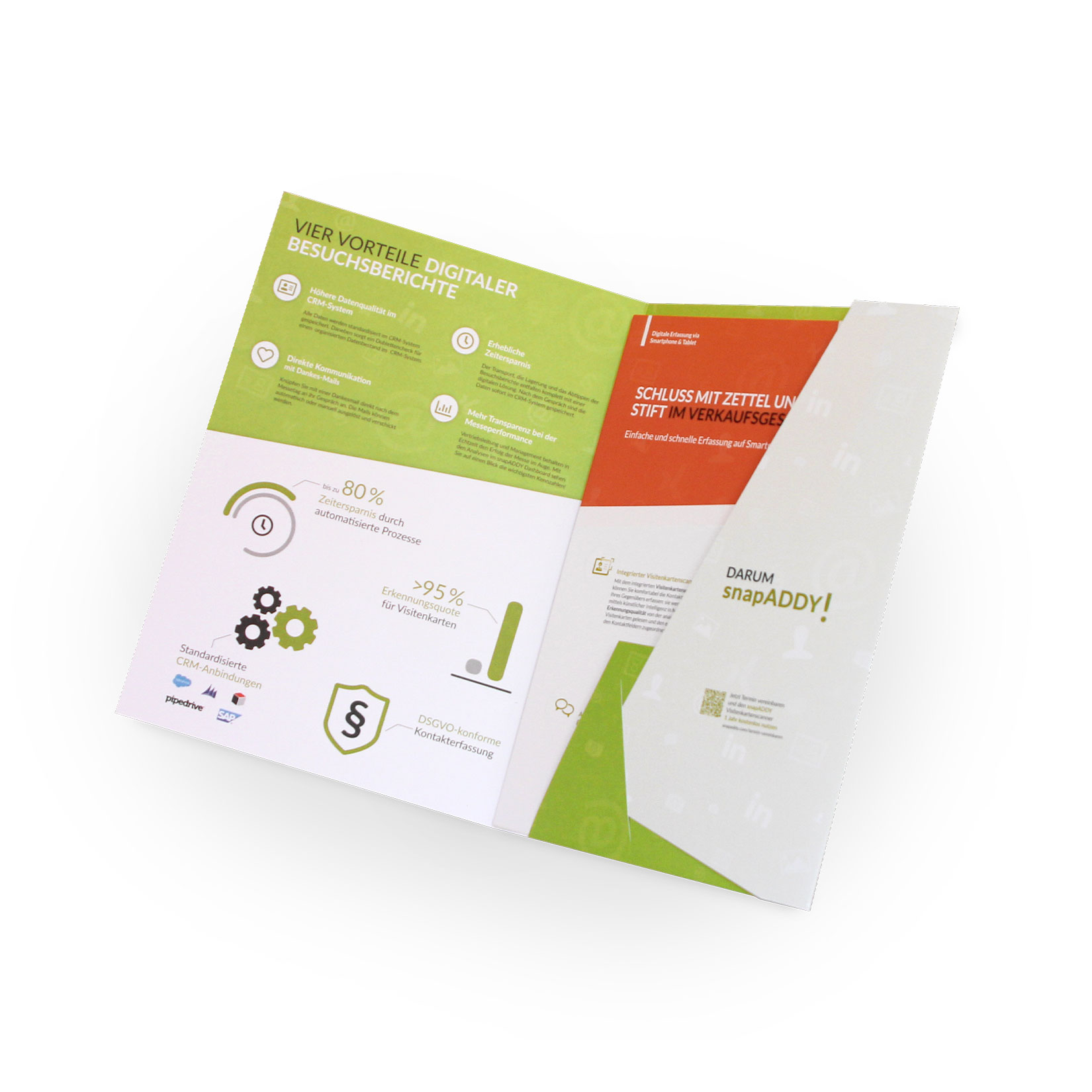 Sales Mappe A4 aus hochwertigem Material