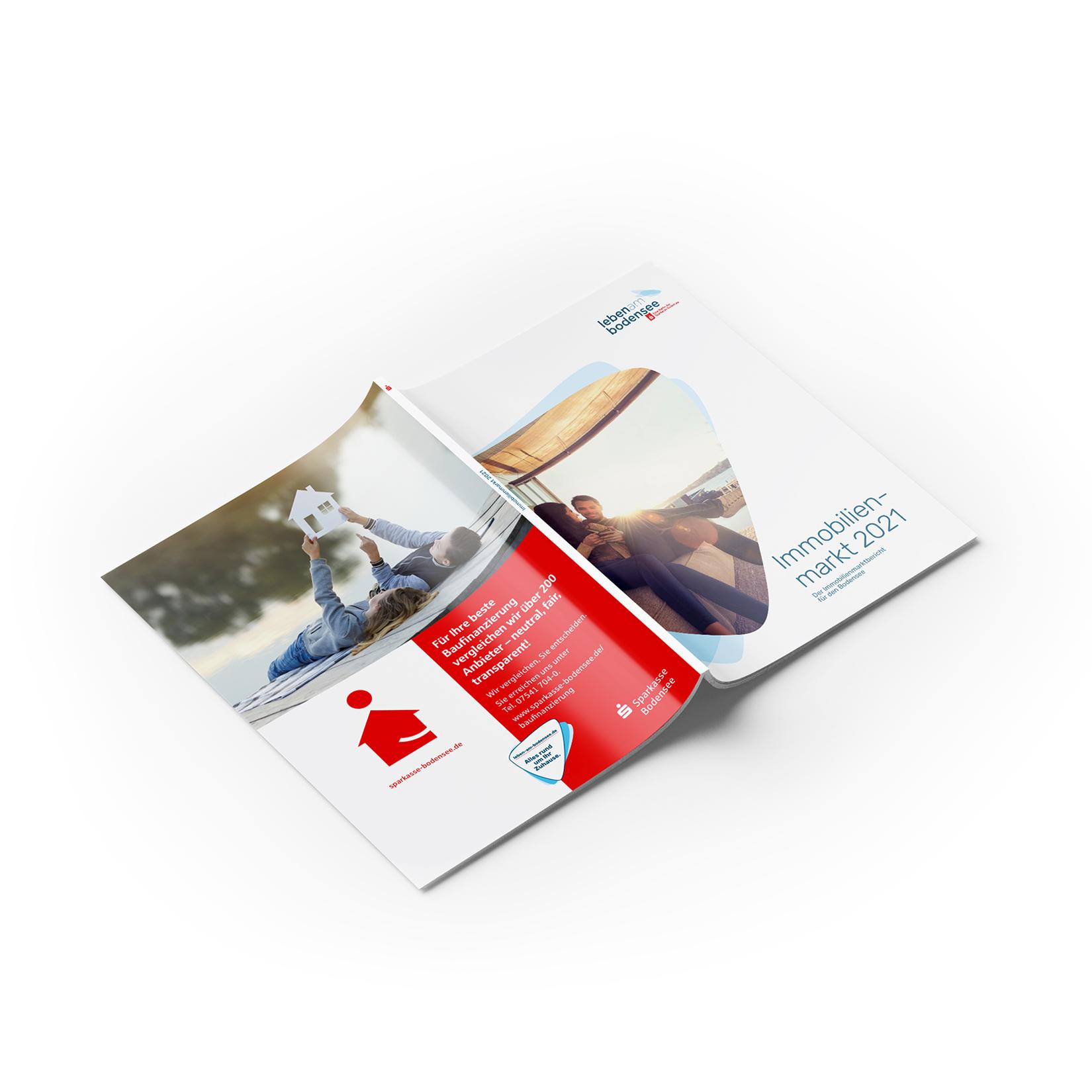 Immobilienmarktbericht Leben am Bodensee Umschlag