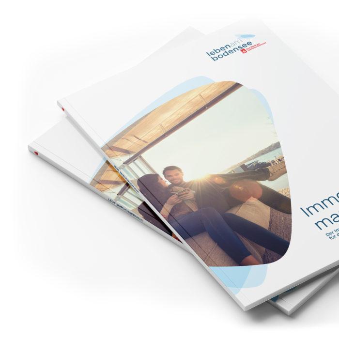 Immobilienmarktbericht Leben am Bodensee Titelseite