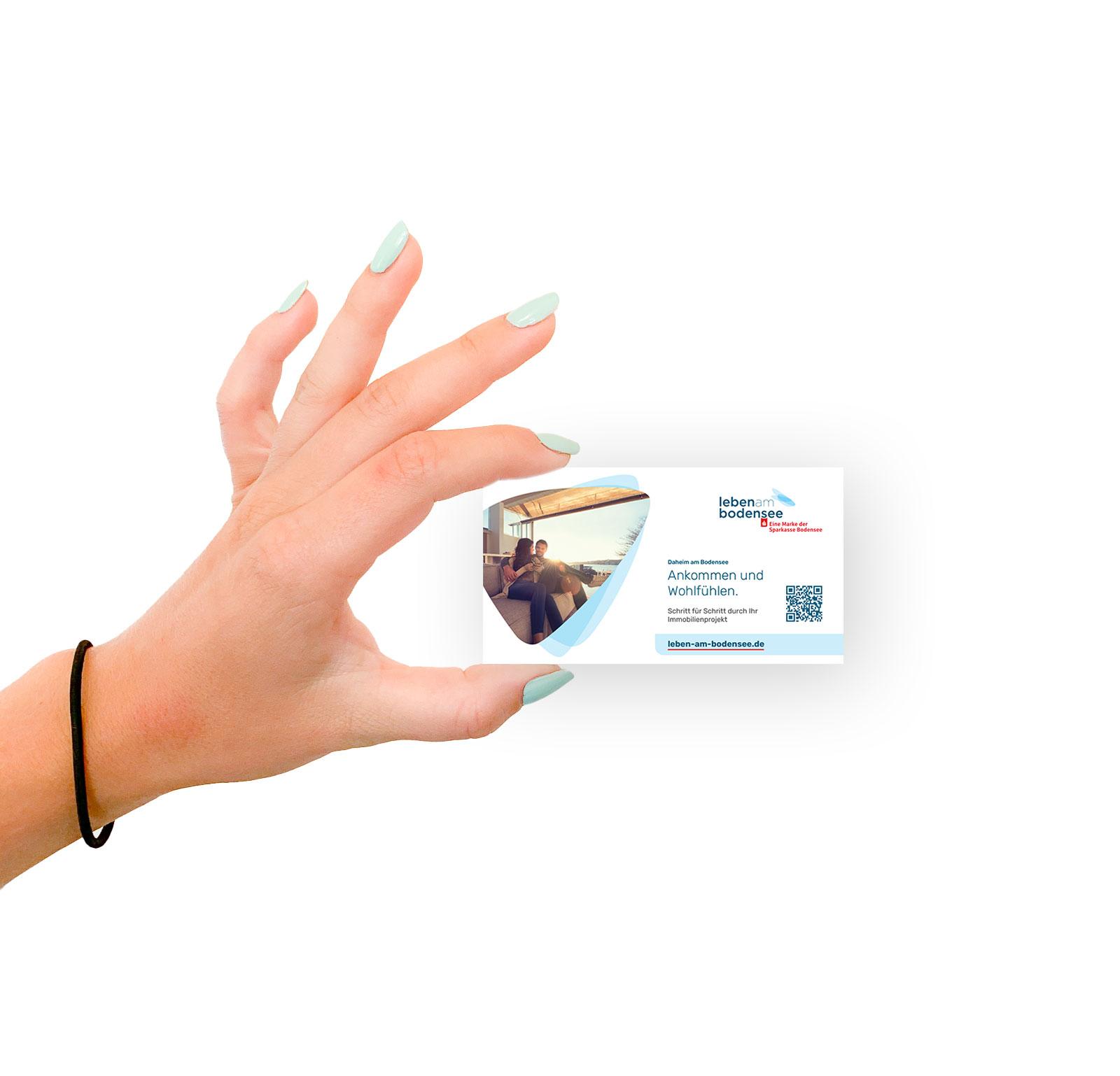 Design Eintrittkarten Anzeige