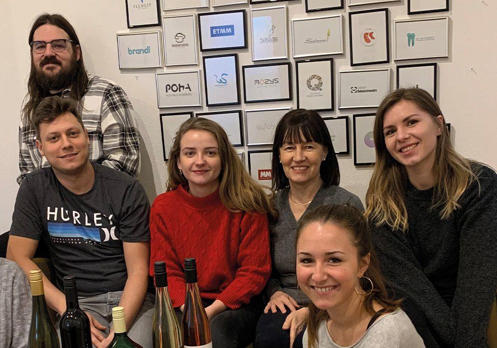 jo's büro für Gestaltung Würzburg Team